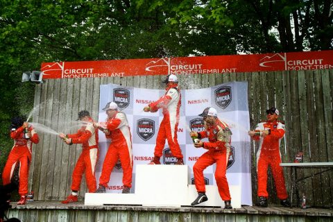 Bédard and Coupal take Micra Cup victories at Mont-Tremblant