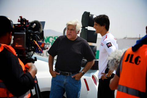 Jay Leno's Garage looks into the amazing story of our first Nissan PlayStation GT Academy International winner, Ricardo Sanchez