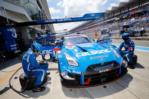Images from the Japanese Super GT Championship at Fuji International Speedway