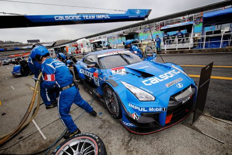 Images from the Japanese Super GT Championship first 2017 round at Okayama