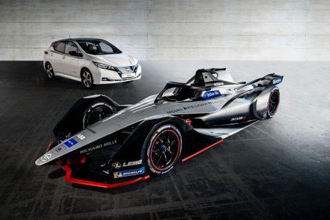 Nissan has taken the next steps toward its debut in the all-electric ABB FIA Formula E Championship by revealing the company's concept livery at the Geneva International Motor Show.
