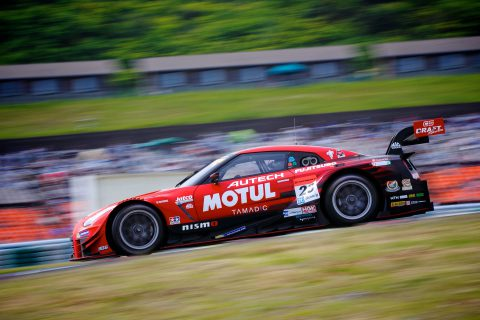 Images from the Japanese Super GT Championship from Autopolis