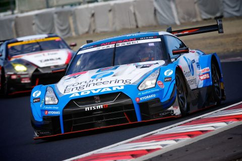 Images from the Japanese Super GT Championship pre-season testing at Okayama