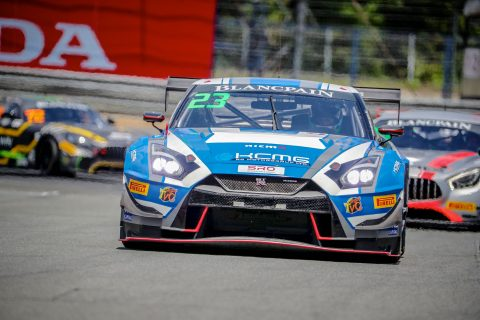 Trophy time For KCMG Nissans in Blancpain GT Series Asia