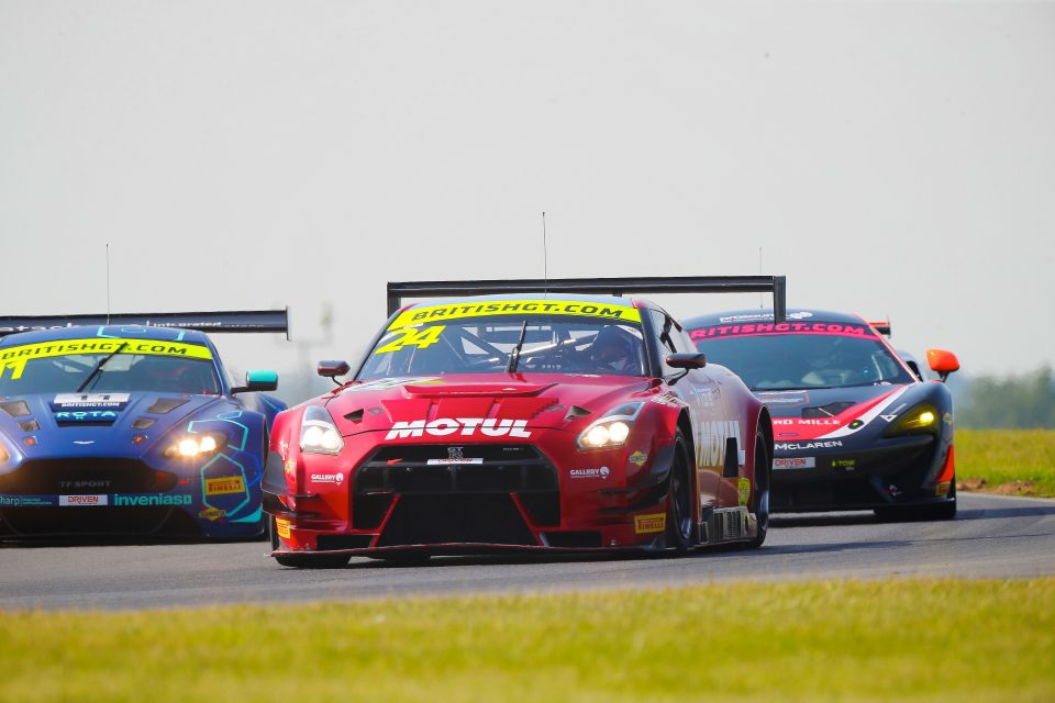 British GT at Snetterton