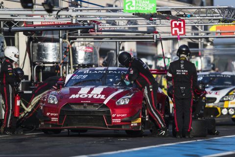 Top five for GT-R in Blancpain battle at Paul Ricard
