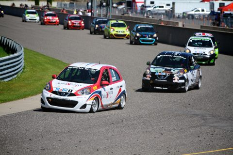 Double Nissan Micra Cup victory for Olivier Bédard