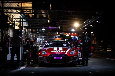 More Spa 24 night action