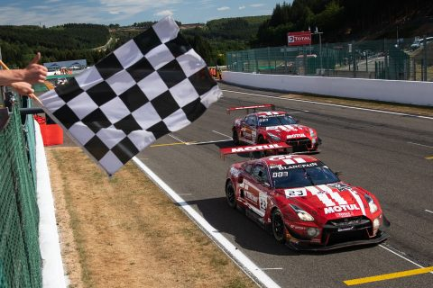Both cars home at Spa 24 and top tens for Nissan