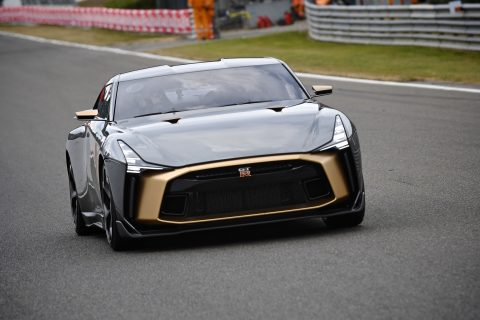 Nissan GT-R50 by Italdesign at Spa