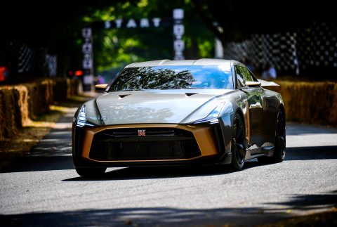 Nissan GT-R50 By Italdesign at Goodwood - next stops Spa and Laguna