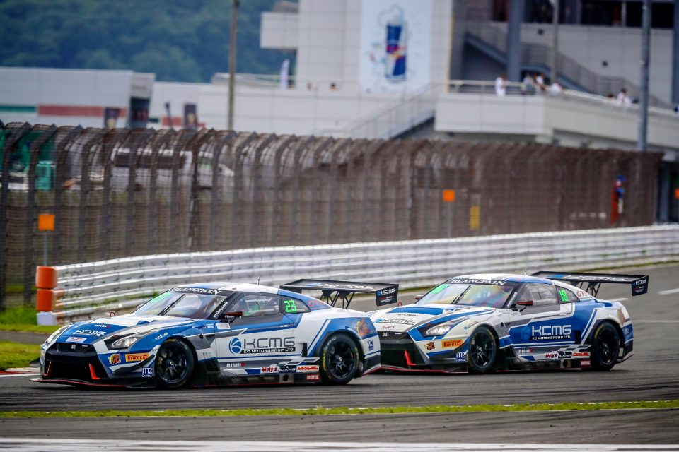 Nissan wins at Fuji in Blancpain GT Series Asia