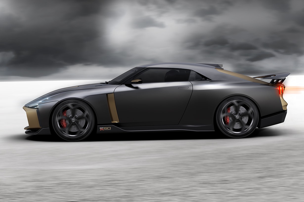 Exclusive Nissan GT-R50 by Italdesign set for world debut ...