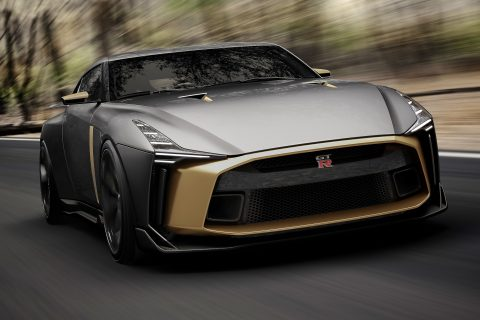 More Nissan GT-R50 images