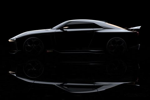 Nissan aces to drive GT-R50 by Italdesign at Goodwood