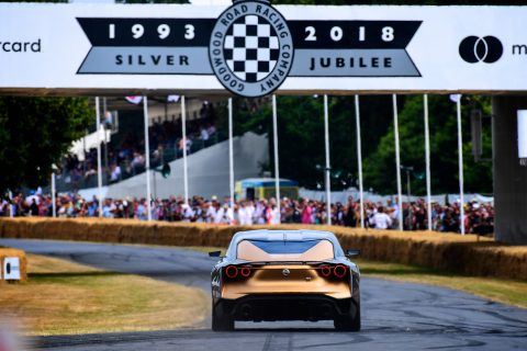 Friday GT-R50 action at Goodwood