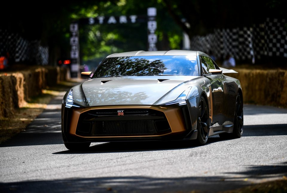 Nissan GT-R50 by Italdesign at Goodwood