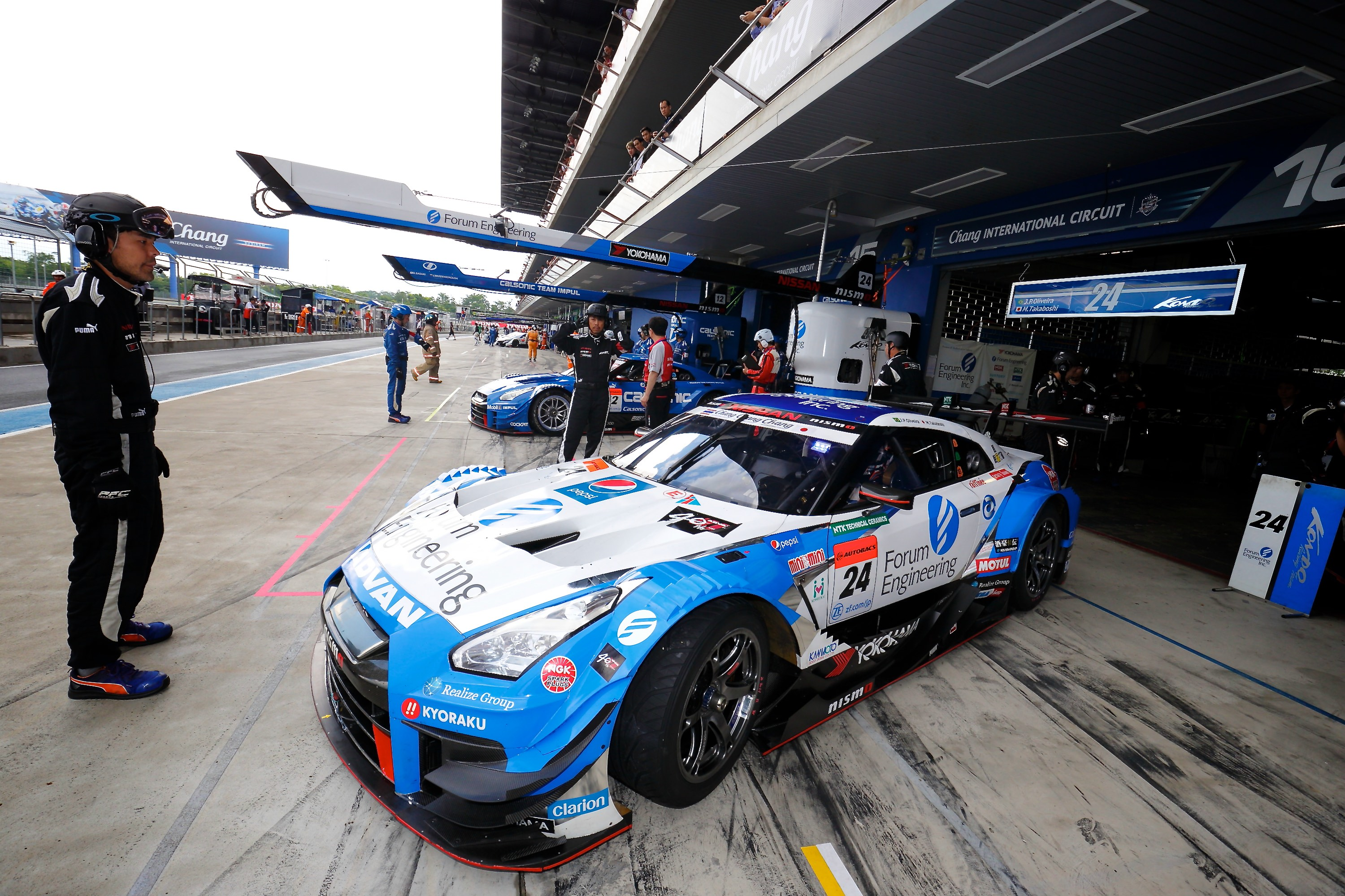 More Super Gt Thailand Action Nissan Motorsports Go Back Gallery For Series Circuits Formulas Images From The Japanese Championship Round 3 At Chang International Circuit N