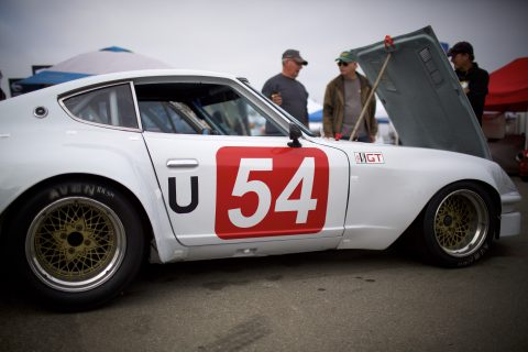 The Rolex Monterey Motorsports Reunion, Friday, Aug. 24, 2018 in Salinas, Calif. (Eric Kayne/AP Images for Nissan)