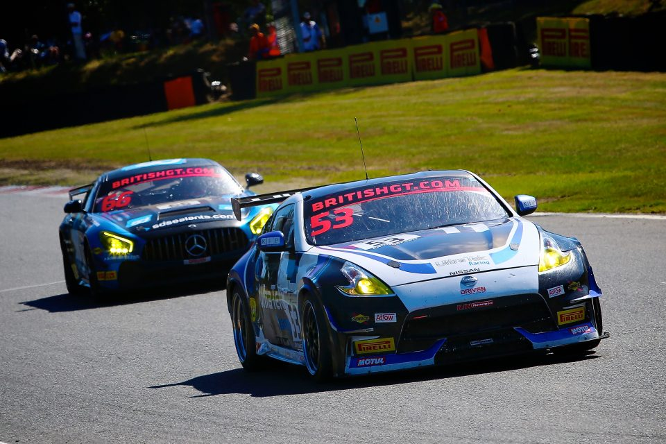 RJN's Nissan 370Z in contention for GT4 Pro-Am title