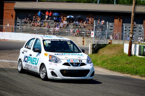 Check out the action from the 2018 Nissan Micra Cup at Trois Rivieres