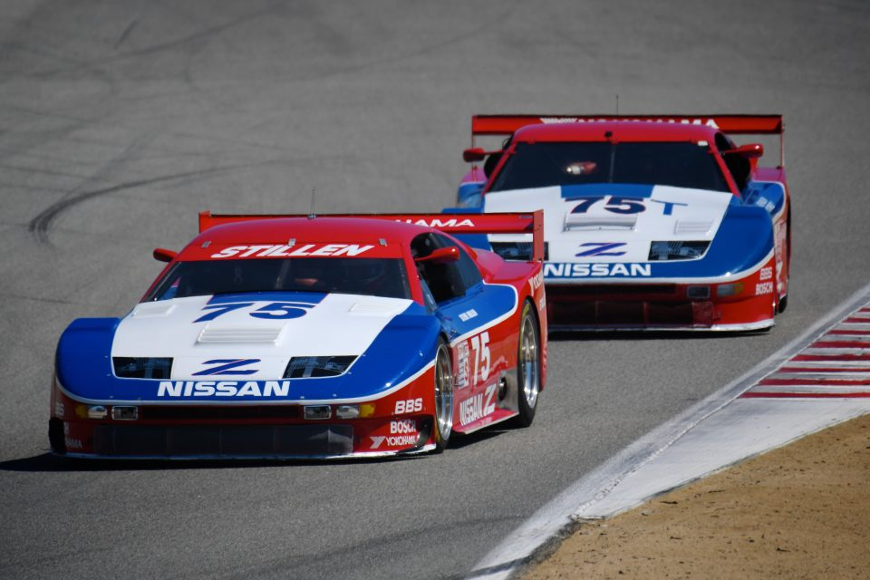 Nissan's exciting past and future featured in Monterey
