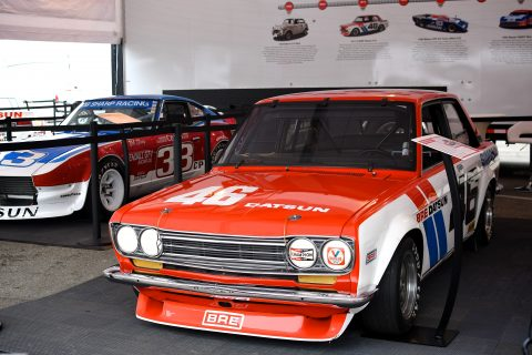 The cars and the stars from Nissan and Datsun's amazing 50 years of motorsport success on track at the Rolex Monterey Motorsports Reunion at WeatherTech Raceway Laguna Seca.