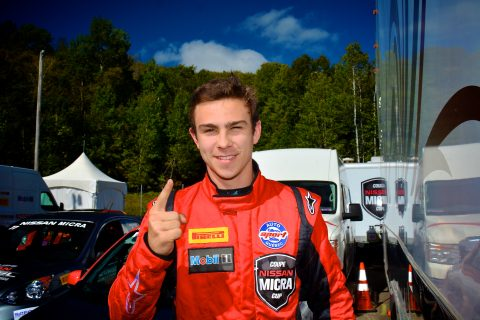 Olivier Bedard wins Nissan Micra Cup championship