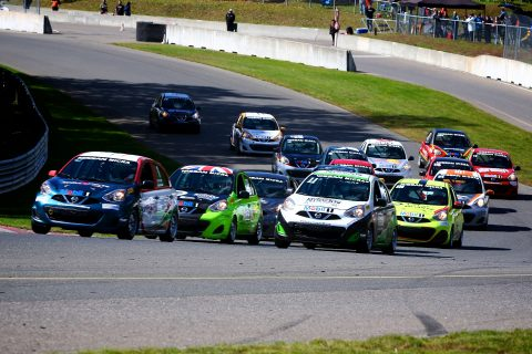 Check out the action from the 2018 Nissan Micra Cup at Circuit Mont-Tremblant