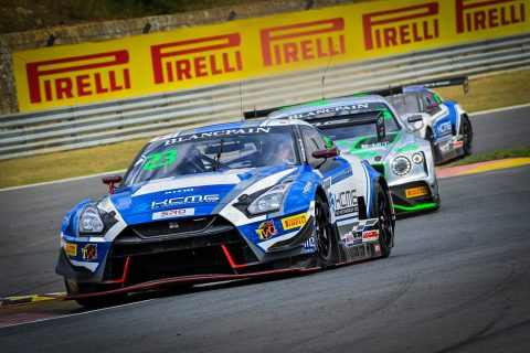 Nissan power in action in Blancpain Asia and WEC