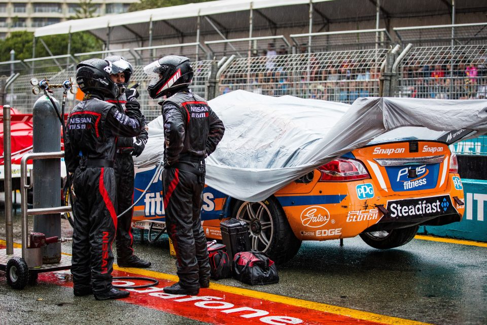 Downpour steals podium chance from Nissan Motorsport