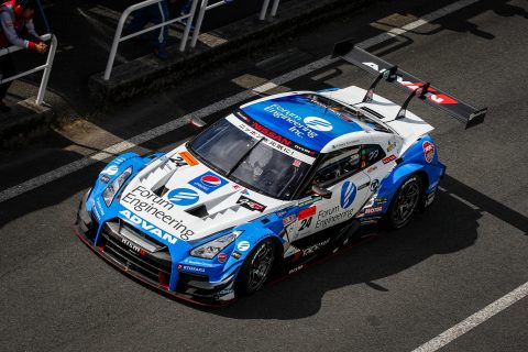 Top tens for Nissan Super GT cars in Autopolis