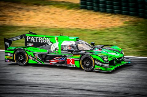 The Nissan-powered ESM team in action at Petit Le Mans