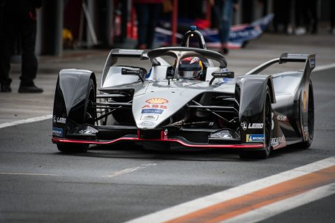 Nissan makes its debut in the FIA Formula E championship in pre-season testing