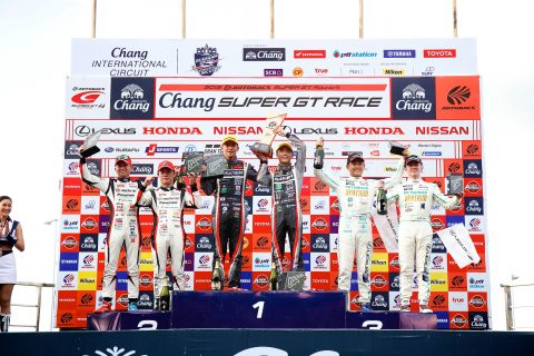 Images from the Japanese Super GT Championship round 3 at Chang International Circuit n Thailand