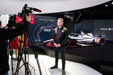 Nissan makes its debut in the FIA Formula E championship - images from our launch at Nissan Crossing in Tokyo.