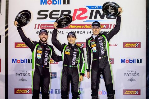 Images from the IMSA WeatherTech SportsCar Championship – the Nissan-powered victory by ESM at the 12 Hours of Sebring.