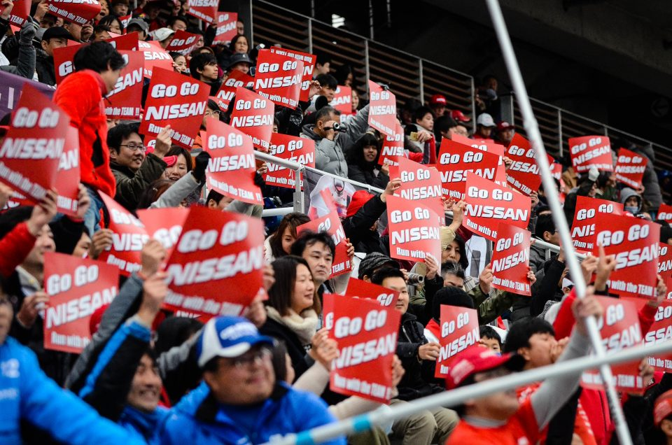 30,000+ fans celebrate Nissan's motorsport past and future
