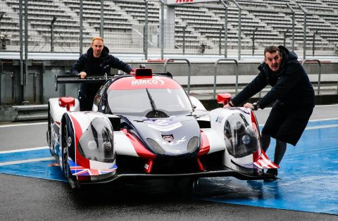 Asian Le Mans Series action from Fuji with Nissan-powered prototypes in the LMP2 and LMP3 classes