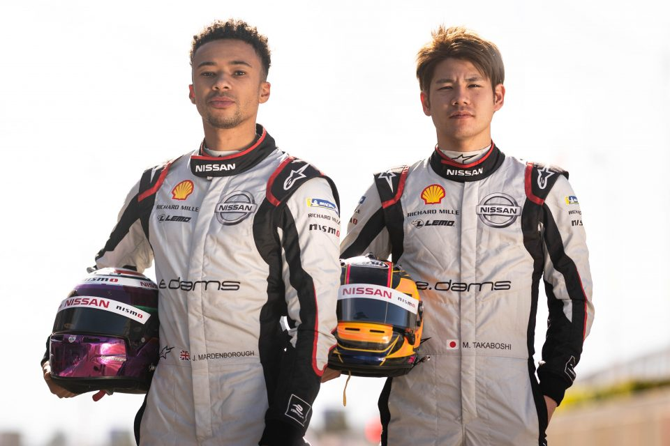 Nissan e.dams rookies impress in Marrakesh test