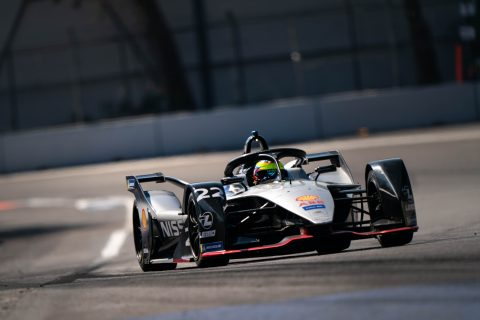 Nissan e.dams go testing in Mexico at the final Formula E in-season test of season 5