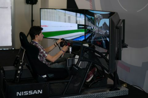 NIssan's Formula E fan activation at the 2019 Mexico City E-Prix