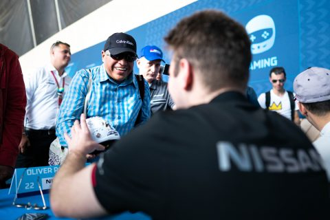 All the Nissan e.dams action from the autograph session from round four of the ABB FIA Formula E Championship.