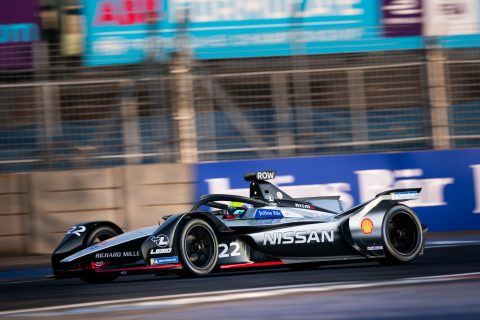 Practice 1 for the Nissan e.dams at the ABB FIA Formula E Mexico City E-Prix