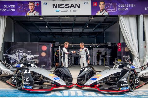 More images from the Sanya E-Prix for Nissan e.dams