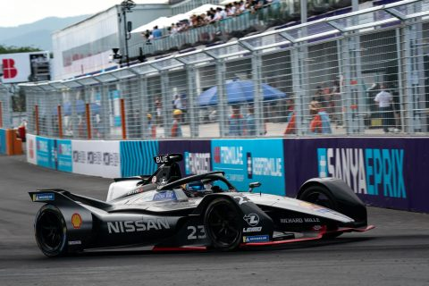 The Nissan Formula E team scored its first ever podium at the Sanya E-Prix with Oliver Rowland.
