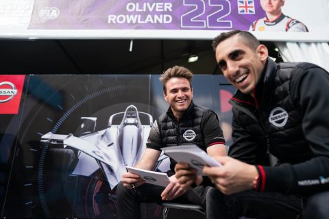 Nissan e.dams drivers Sebastien Buemi and Oliver Rowland learn more about each other's favorite snack, track and much more.
