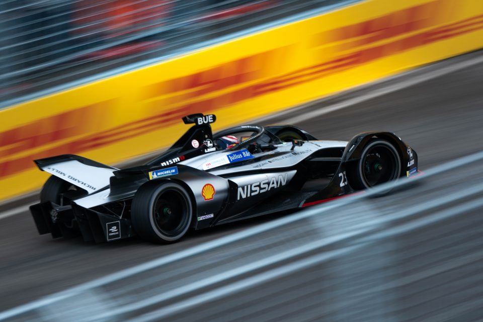 Nissan e.dams kicks off European races with Rome points haul