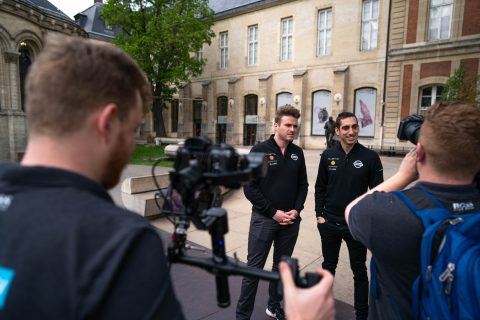 Nissan e.dams drivers Sebastien Buemi and Oliver Rowland take a look at hisorical technical innovations at the Musée des Arts et Métiers.