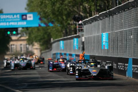 All the action from Nissan e.dams at ABB FIA Formula E Paris E-Prix.